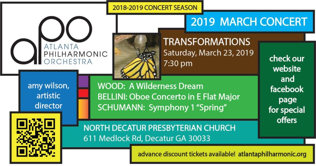 Graphic for APO March 2019 concert