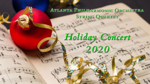 APO String Quartet with some holiday music